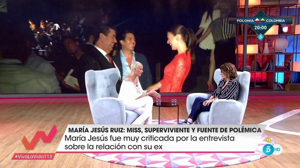 """Toñi Moreno a María Jesús Ruiz: """"No se puede frivolizar con la situación de muchas mujeres"""""""