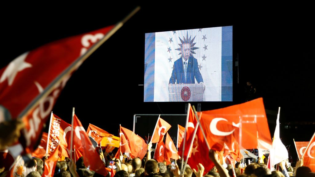 Erdogan se declara ganador de las elecciones presidenciales de Turquía