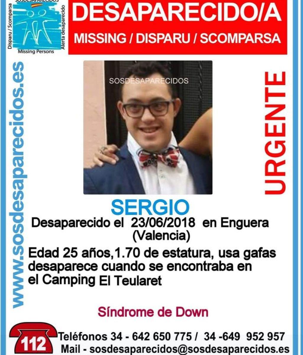 Cruz Roja se suma a la búsqueda del joven con síndrome de Down desaparecido en Valencia