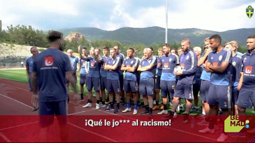 La contundente respuesta de Suecia contra los ataques racistas al jugador que provocó la falta del gol de Kroos