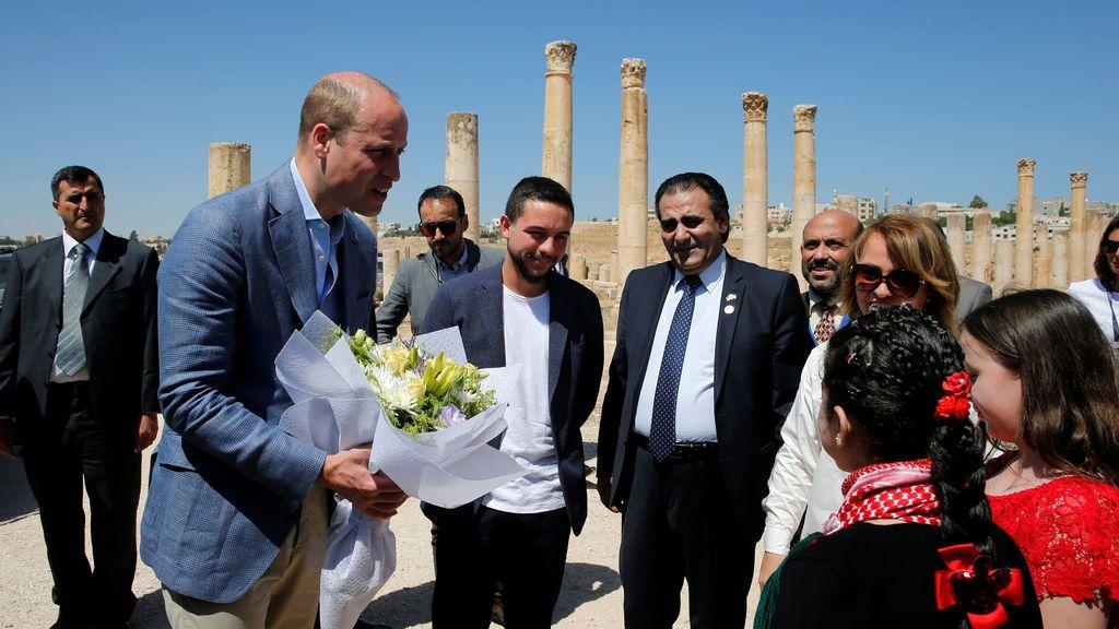 El Príncipe Wlliam de visita oficial a Jordania
