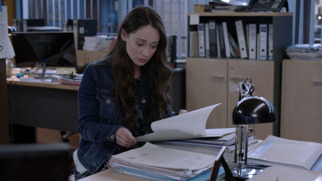 Elena Rivera es Paula Gracía en el sexto capítulo de la serie 'La verdad'.