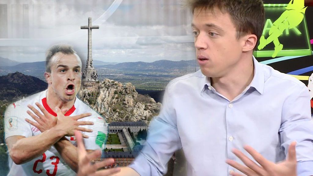 La opinión de Errejón acerca de trasladar a Franco fuera del Valle de los Caídos