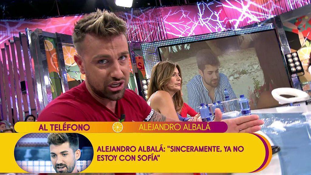 """Rafa Mora se harta de Albalá: """"Estás reventado porque crees que Sofía e Iván están tonteando"""""""