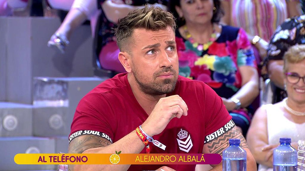 """Rafa Mora y su cara a cara contra Alejandro Albalá: """"Parásito, en Ibiza me hacías la pelota para entrar en los reservados"""""""
