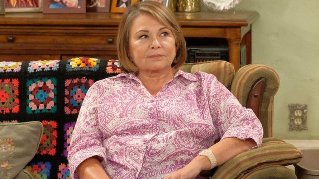 Roseanne Barr, en la décima temporada de la serie de ABC 'Roseanne'.