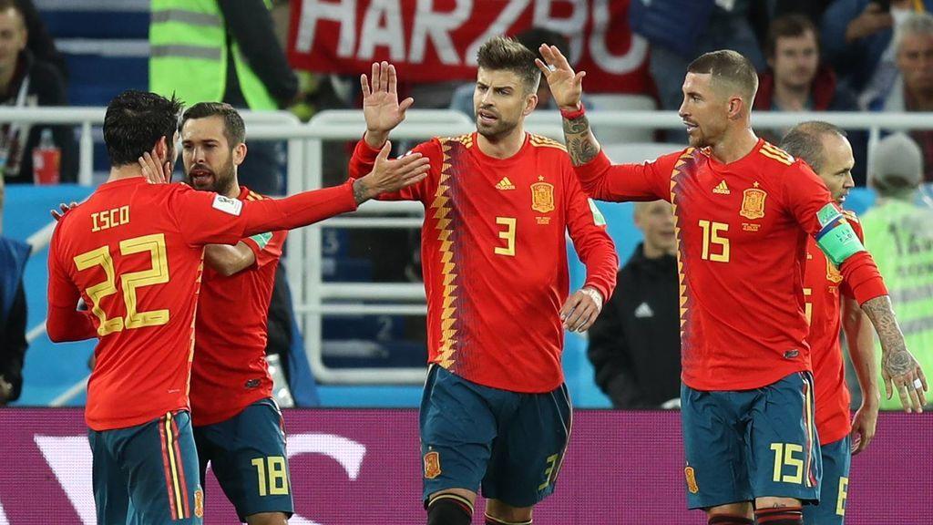 España se medirá en octavos a Rusia el domingo a las 16.00 horas en Telecinco, Mitele.es y la App de Mediaset Sport