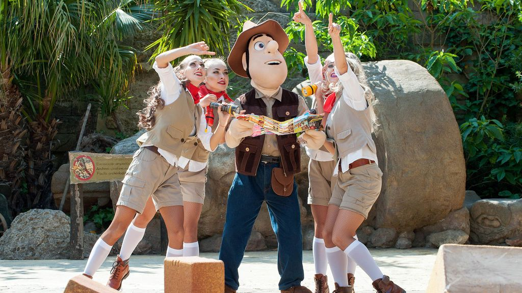 Tadeo Jones y sus amigos llegan a  PortAventura World