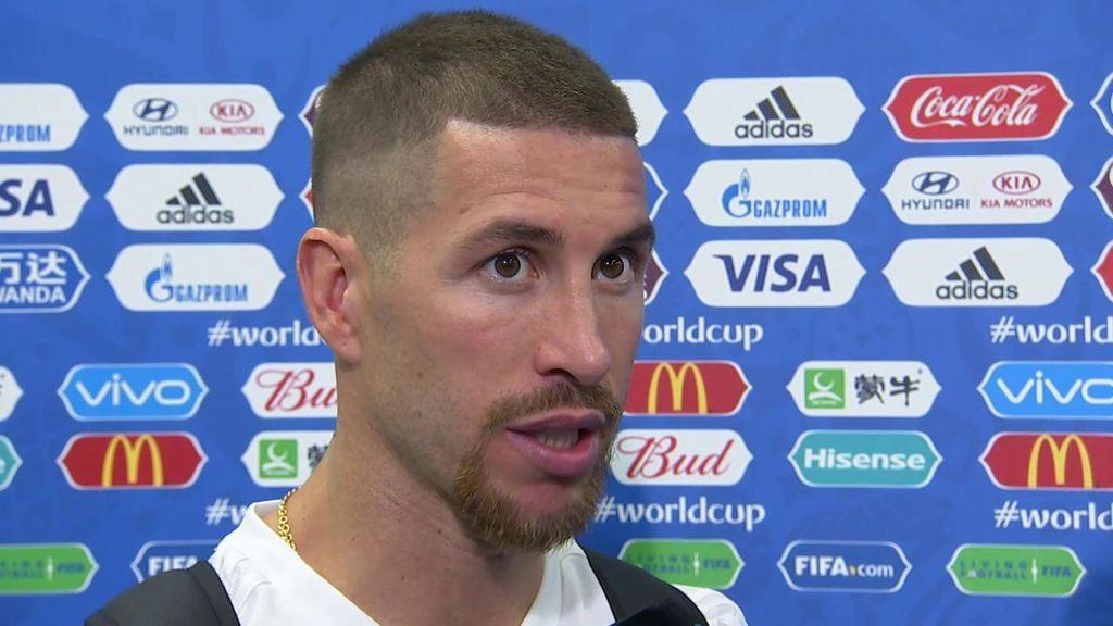 "Sergio Ramos: ""Todos podemos aportar más tanto a nivel general como individual"""