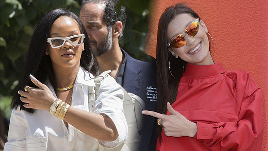 El de pierna de Bella Hadid o la multiriñonera de Rihana: bolsos que no te dan calor para verano