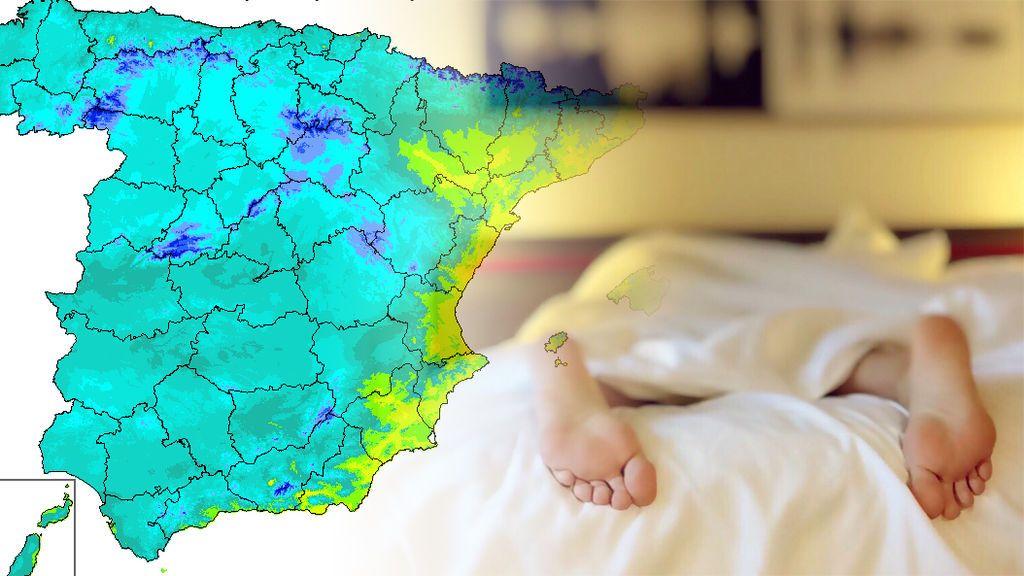 Semana de noches tropicales: te decimos cuándo dejaremos de dormir a 20ºC