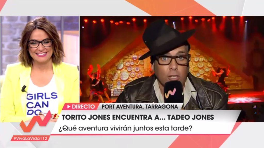 ¡Torito se cuela en el primer espectáculo de Tadeo Jones en Port Aventura!