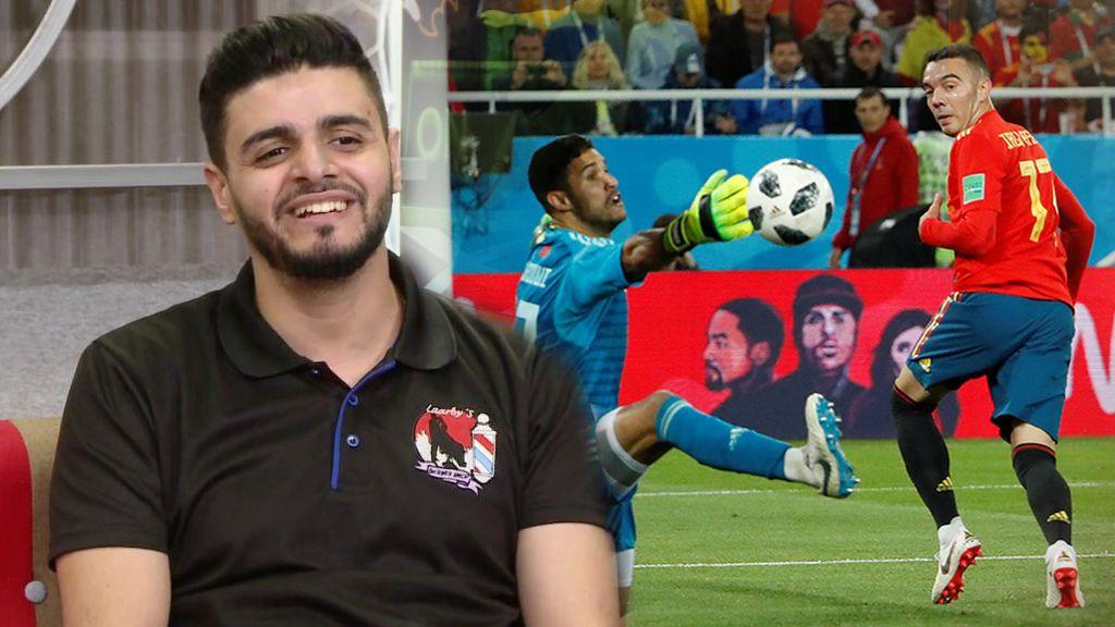 Por su manos han pasado muchos de los jugadores del Mundial: Larby, el peluquero que le haría un degradado a los árbitros del VAR
