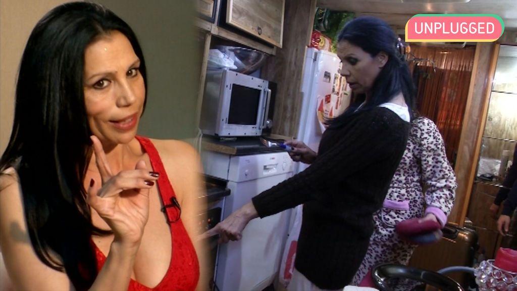 Toñi Salazar estuvo a punto de quemar la cocina en 'Me cambio de familia'