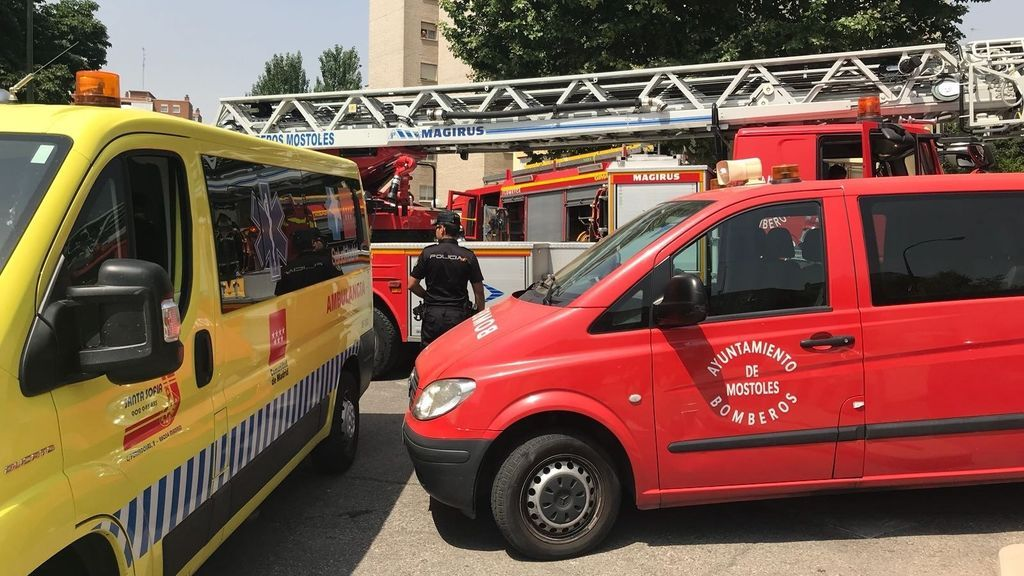 Se quema a lo bonzo en Madrid hiriendo a parte de su familia cuando su mujer le ha dicho que se separaba