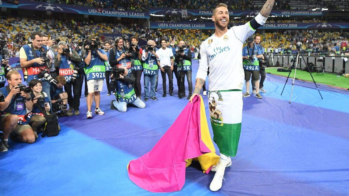 Sergio Ramos descubre el nuevo tatuaje que se ha hecho en homenaje al Real Madrid