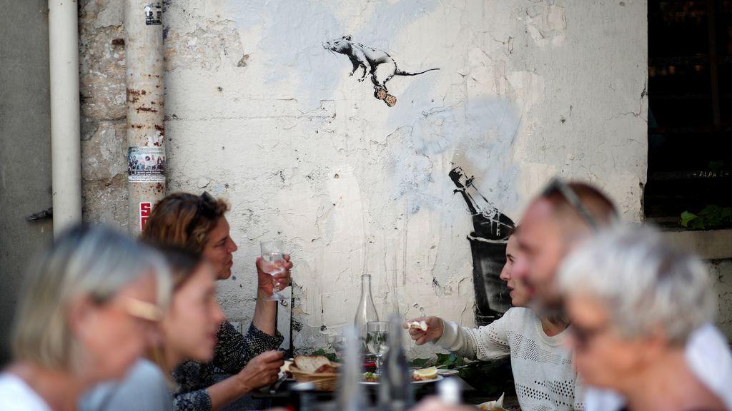 Banksy confirma los rumores: Ha dejado su arte en París