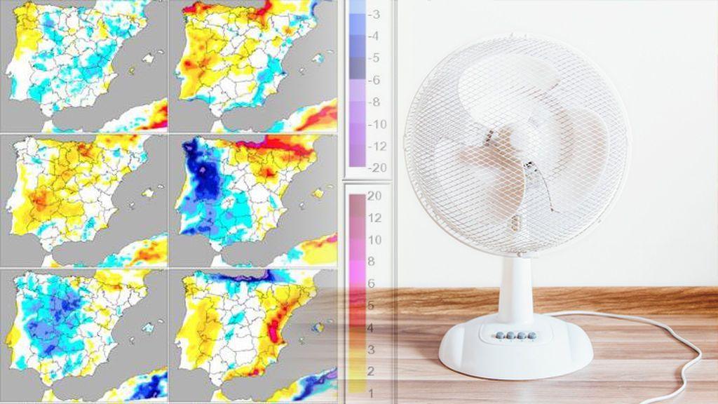 Semanas de derretirse a ratos: analizamos las temperaturas máximas a pesar de la dana