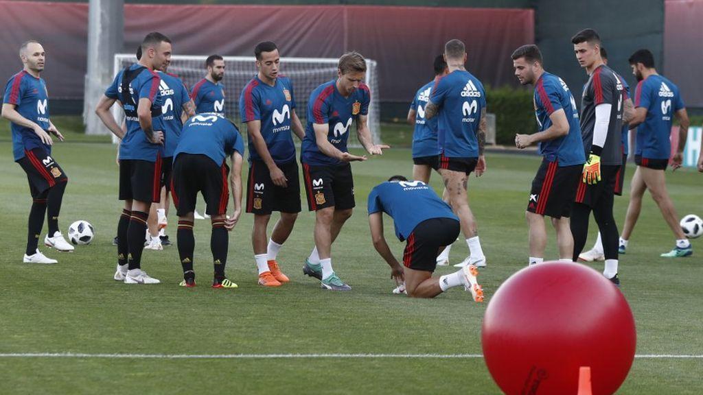 Sergio Ramos cambia de look de cara al enfrentamiento ante Rusia