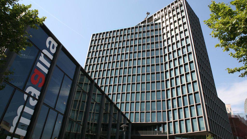 Edificio de Imagina, sede de Mediapro, en Barcelona.