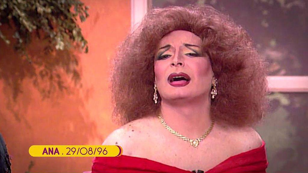 El 'Maestro Joao' participó en televisión caracterizado como Rocío Jurado ¡Y ni mencionó que es vidente!