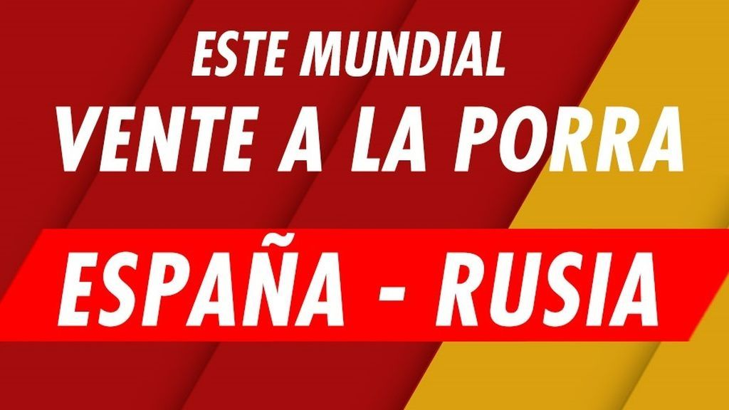 Este Mundial, gana tú también con la Porra de Deportes Cuatro y el España-Rusia