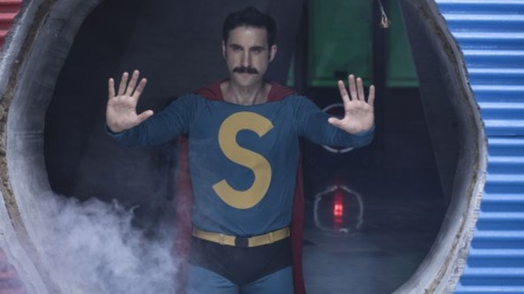 Dani Rovira se pone el traje del superhéroe español