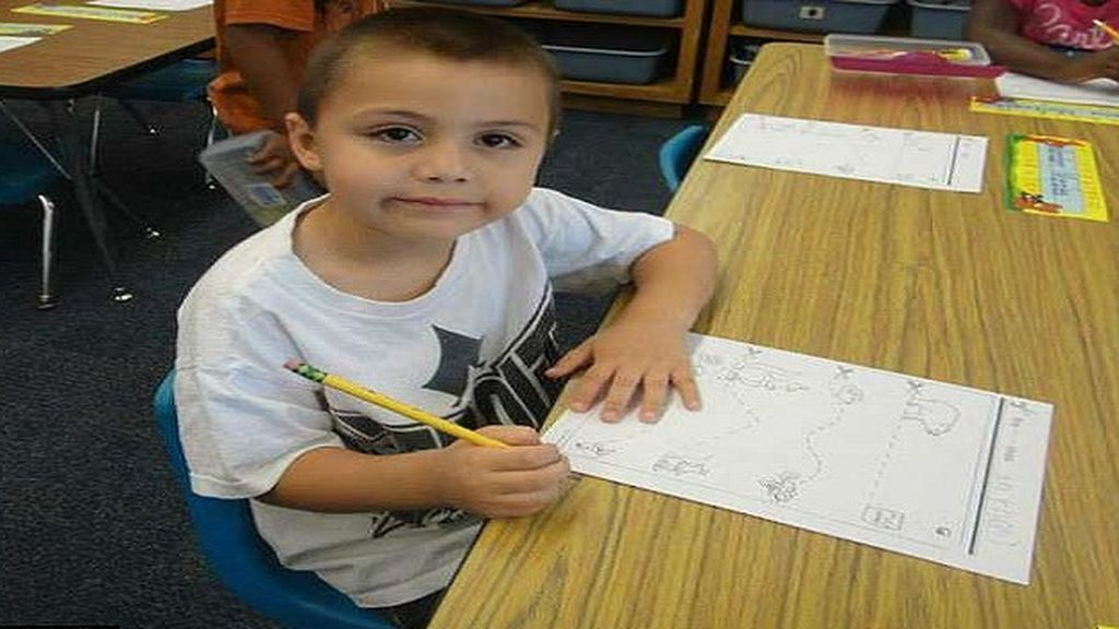 Anthony Avalos, de 10 años