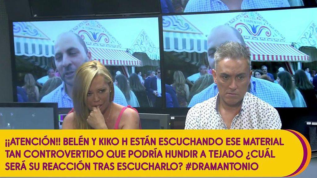 """J.J. Vázquez, Belén y Kiko H. ven el material controvertido sobre Antonio Tejado: """"No le deseo esto ni a mi peor enemigo"""""""