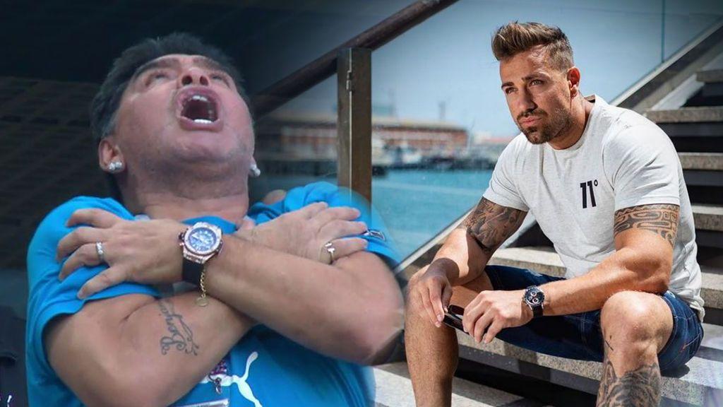 """Rafa Mora estalla contra Diego Armando Maradona tras el gol de Messi: """"¿Qué dices ahora?"""""""