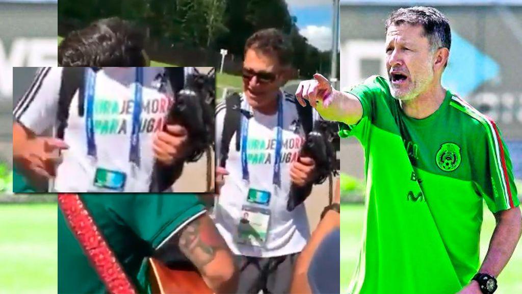 Lemas 'bien chingones': el seleccionador mexicano aprovecha hasta sus camisetas para motivar a los jugadores