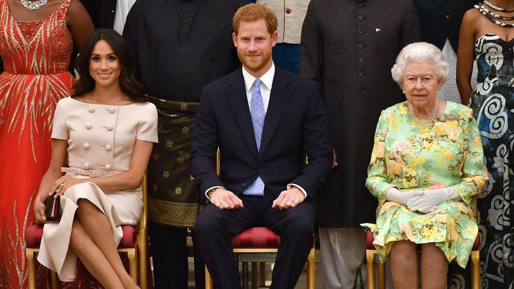 Meghan Markle se salta el protocolo de la Familia Real