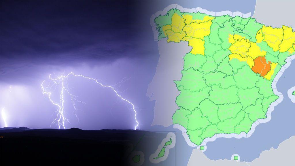 Tormentas, lluvias, viento y granizo: 18 provincias estarán en riesgo estos días por la dana