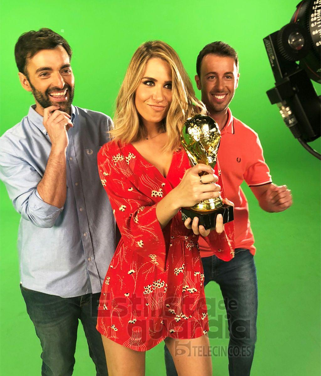 Baila con Mediaset, con María, Ricardo y Matías