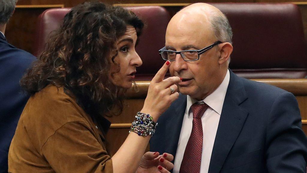 El Congreso  aprueba los Presupuestos del PP que gestionará el Gobierno de Pedro Sánchez