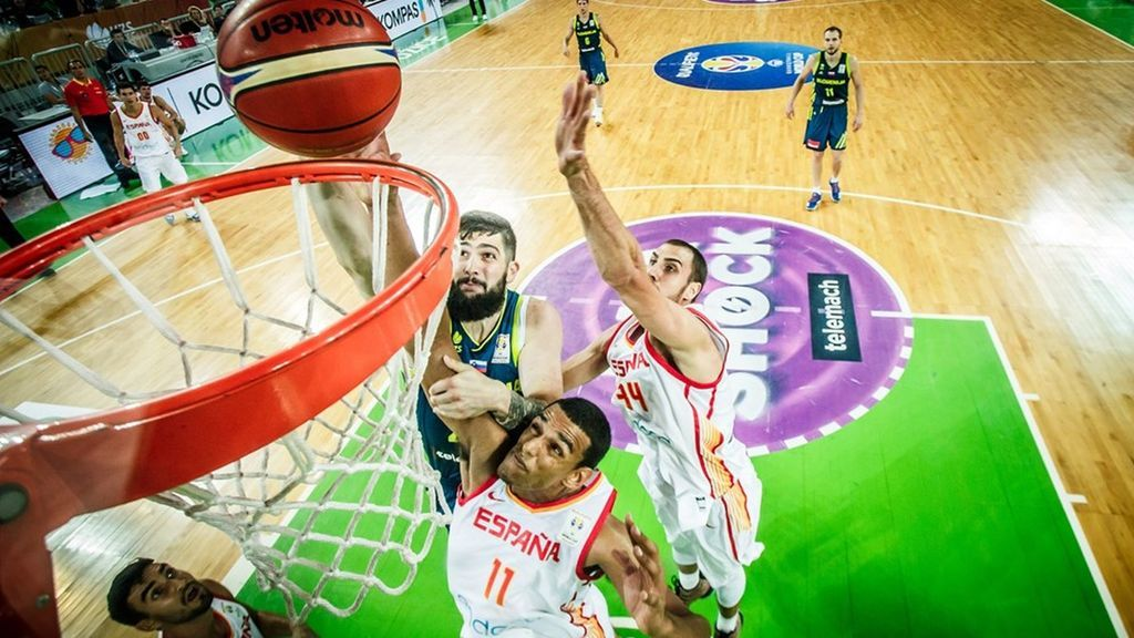 Eslovenia - España clasificatorio para la Copa Mundial de Baloncesto de 2019, completo