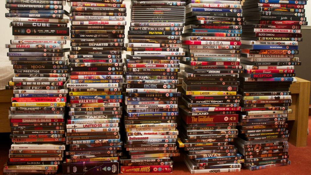 Se dejan de vender DVDs y CDs en Estados Unidos (tarde o temprano tenía que pasar)