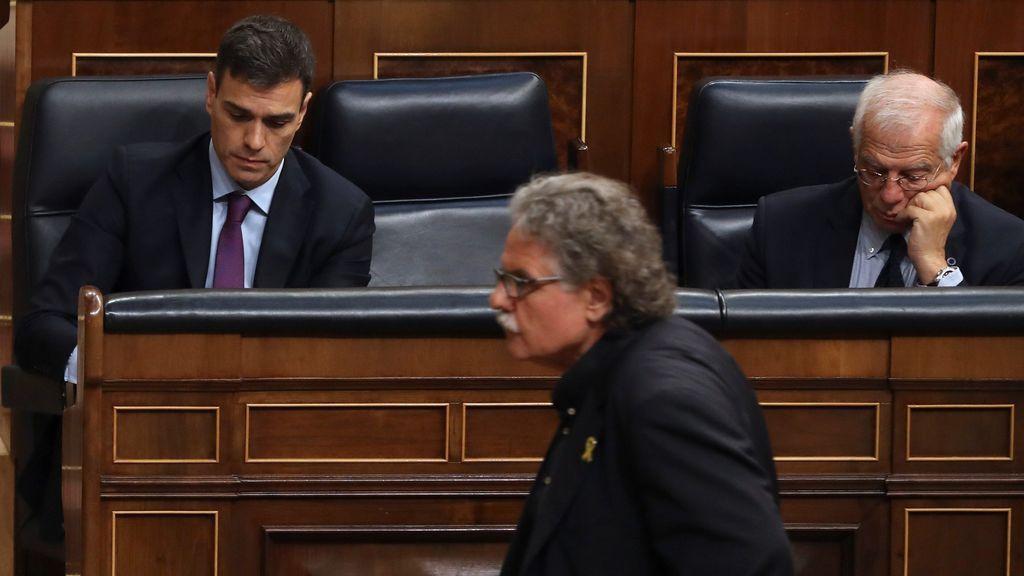 Pedro Sánchez rechaza el referéndum pactado que le exige el president de la Generalitat