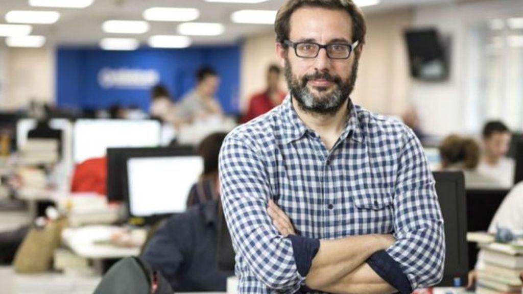 Andrés Gil, jefe de Política de eldiario.es.