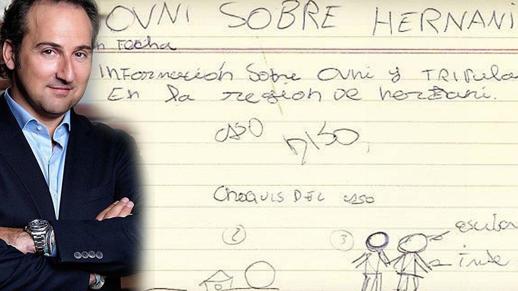 Iker Jiménez ya apuntaba maneras: muestra sus investigaciones sobre OVNIS... ¡cuándo sólo era un niño!