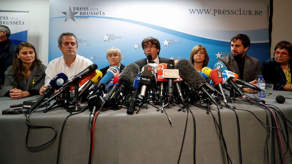 Puigdemont y el resto de presos soberanistas tienen dos días para pagar las fianzas y evitar el embargo