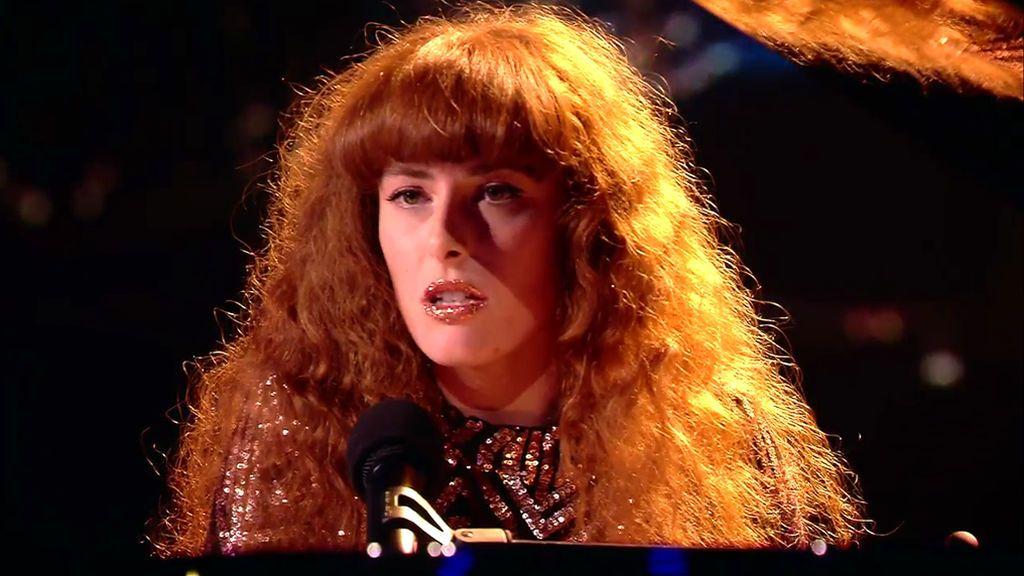 Poupie vuelve al piano y canta 'When I was your man' para intentar pasar a la final