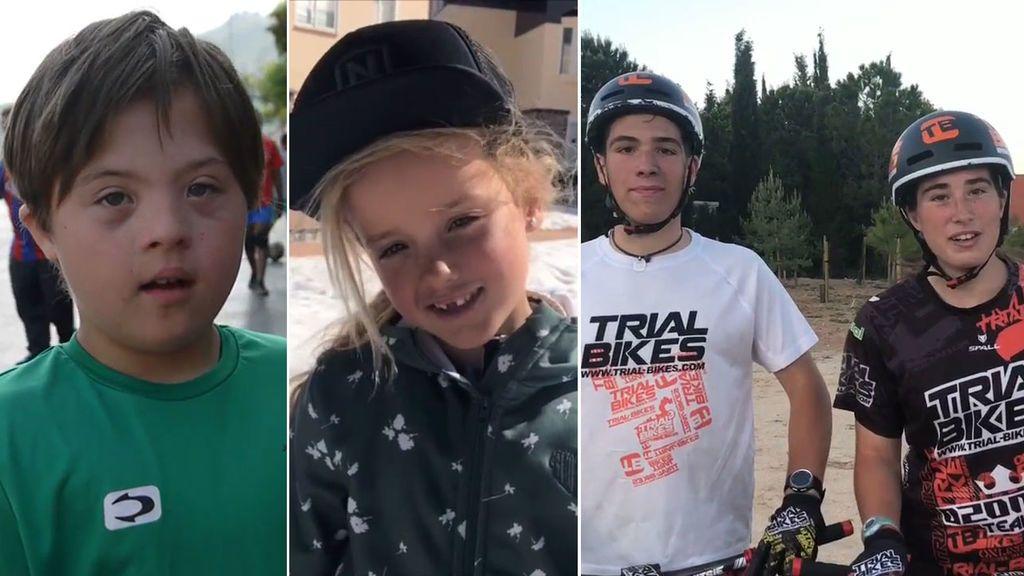 Joaquín, Carla y los hermanos Barón, ganadores de nuestro concurso #SoyMuyPro