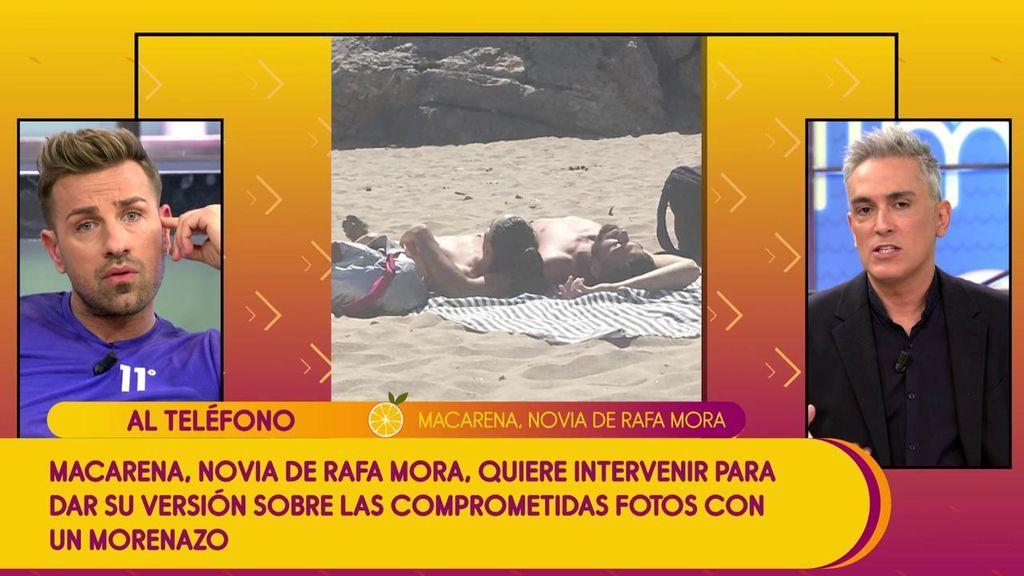 """Macarena se defiende de su posible deslealtad a Rafa Mora: """"No veo nada de malo en ir a la playa con quien quiera"""""""