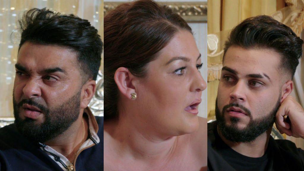 Las caras lo dicen todo: Así ha reaccionado la familia de la Rebe a la noticia de su embarazo