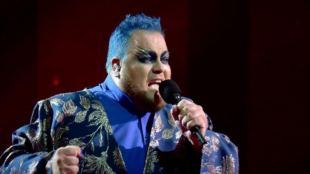 Ramil hace una versión gótica de 'Muera el amor' y deja frío al jurado de Factor X