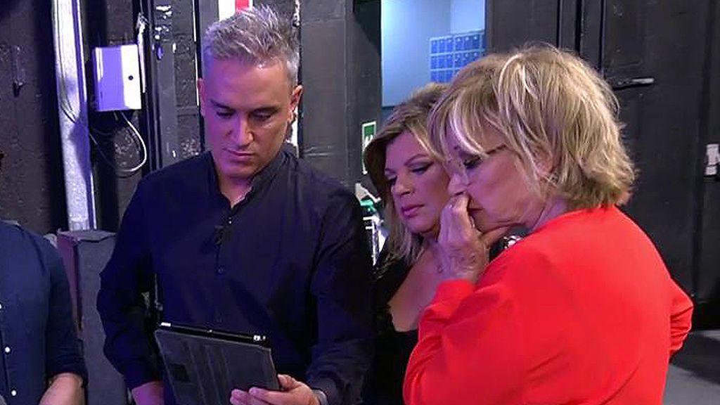 """Mila y Terelu reaccionan a las imágenes comprometidas de Antonio Tejado: """"Me parece una cerdada grabar esto"""""""