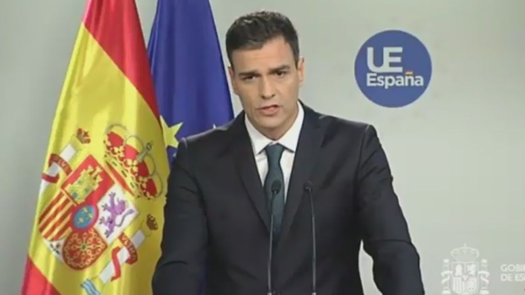 """Sánchez asegura que el acuerdo sobre migración """"no es el mejor"""" pero destaca que es positivo para España"""