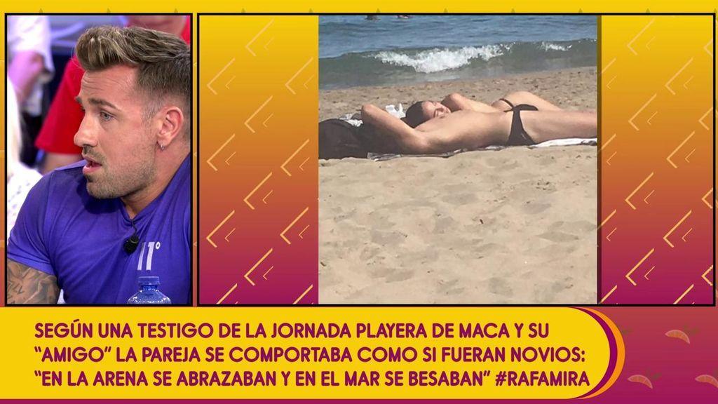 Rafa Mora cuenta quién es el misterioso 'amigo' de Macarena, ¿su aún novia?