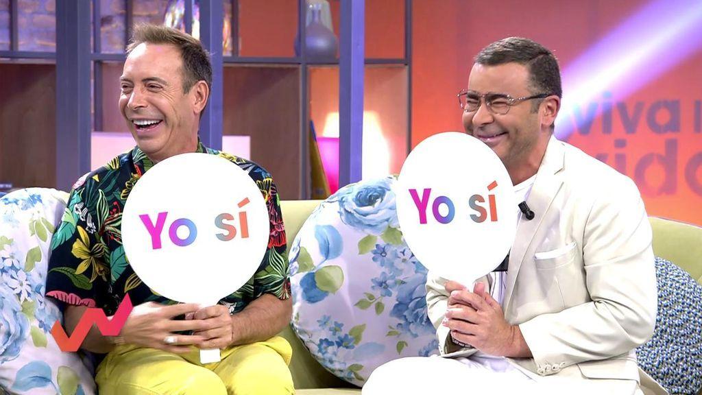 El juego 'Yo nunca' revela los secretos sexuales más ocultos de Toñi, Joao y Jorge Javier